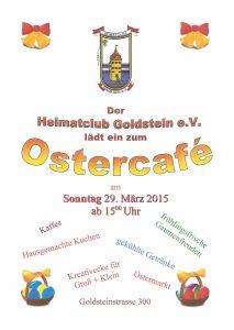 Ostercafé Plakat 2015