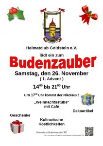 Budenzauber 2016 Plakat