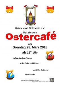 Ostercafe 2018 Plakat
