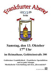 Frankfurter Abend 2018